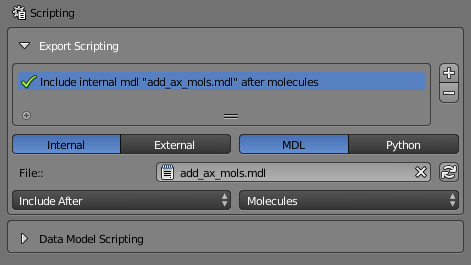 Scripting — MCell and CellBlender Tutorials